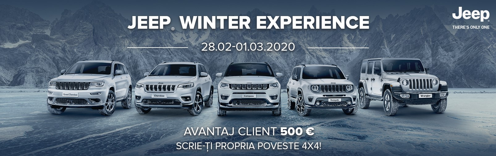 jeep winter experience - 28.02 - 01.03.2020